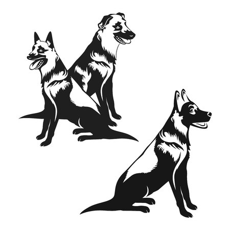 body guard: dog icon