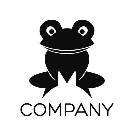 tadpole: frog icon Illustration