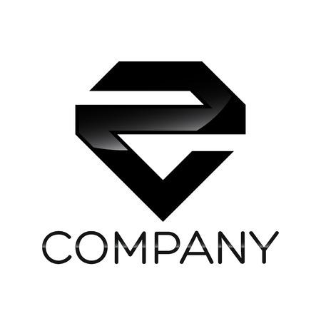 diamond letters: E icon