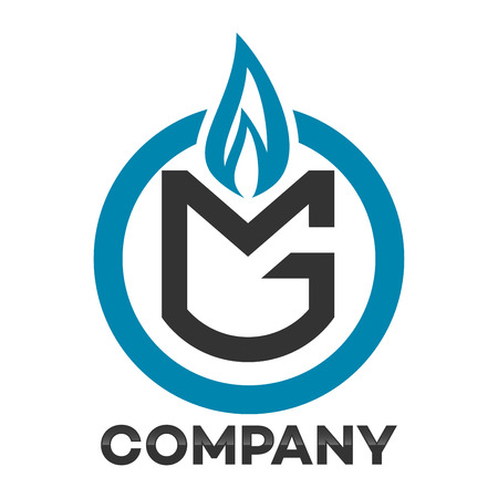 Gas and MG company linked letter icon