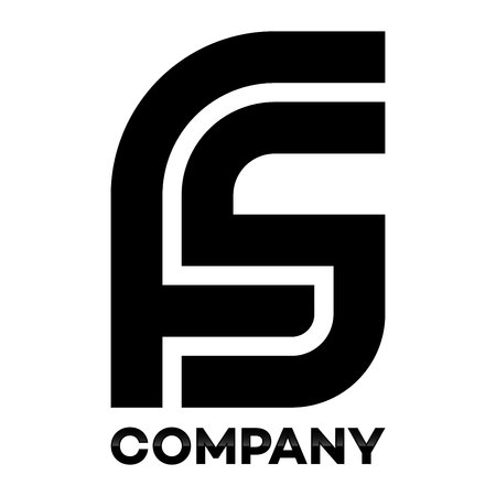 FS company linked letter icon