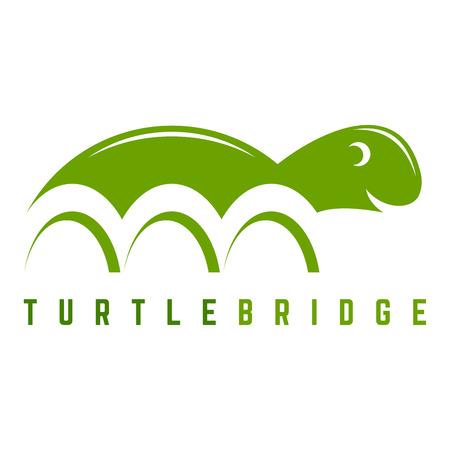 drawbridge: The turtle and bridge icon