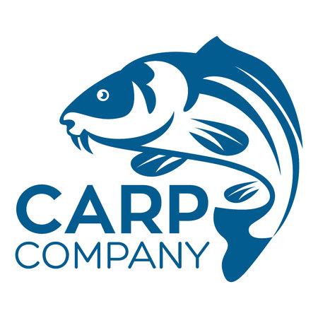 fish carp logo