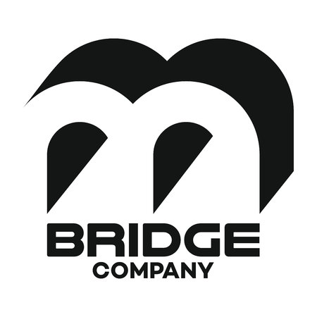 bridge and B company linked letter logo