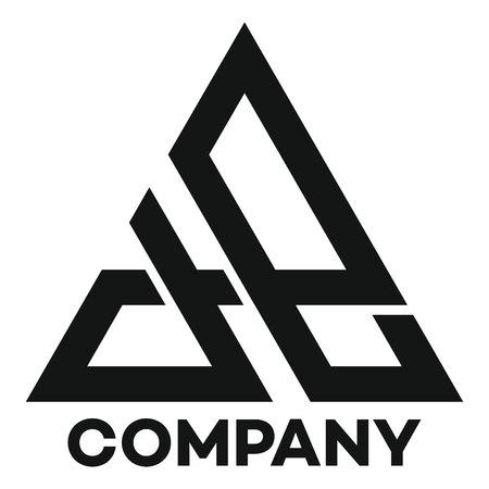 A and E company linked letter logo Ilustração