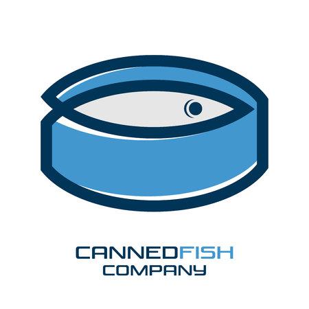 Modern Canned fish icon Foto de archivo - 98788586
