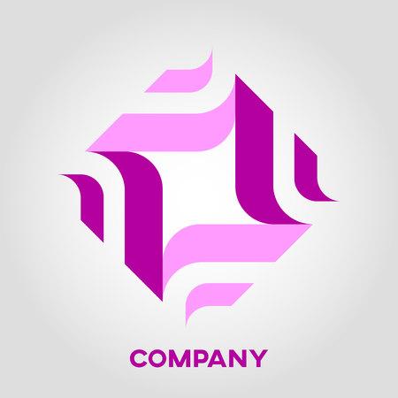 Abstract logo logistics Standard-Bild - 119848414