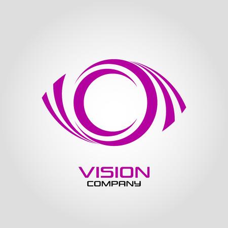 Abstract logo vision and eye Standard-Bild - 119848418