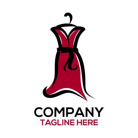 Fashion and dress design logo