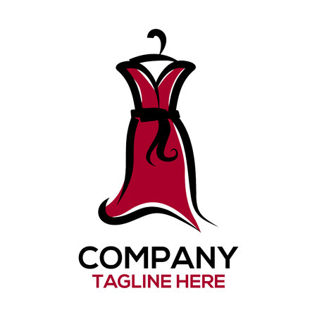 Logo für Mode- und Kleiderdesign Logo