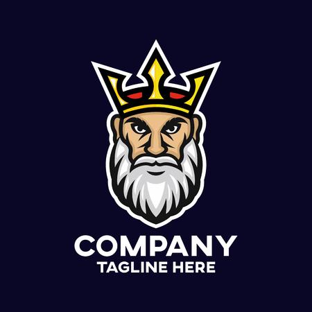 Modern king logo