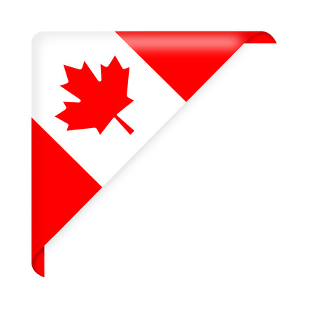 Canada flag Stock Vector - 29070740