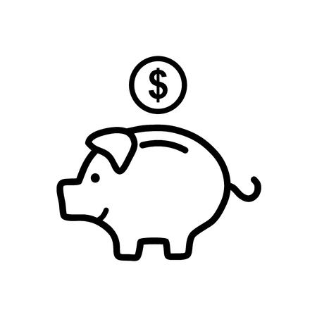 Piggy bank Vectores