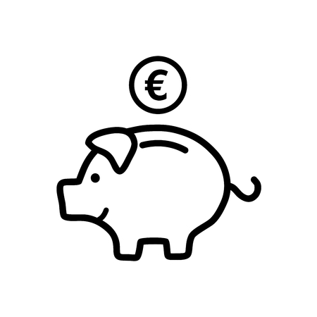 Piggy bank Illustration