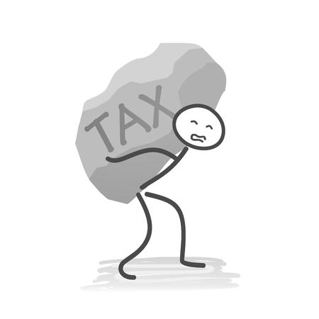 税  イラスト・ベクター素材