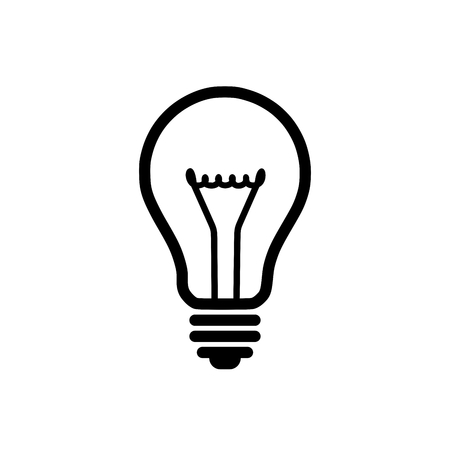 progress icon: Light bulb icon