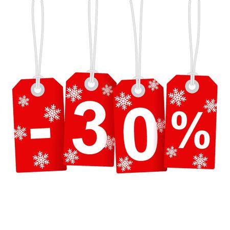 Illustration of Discount 30 Percent