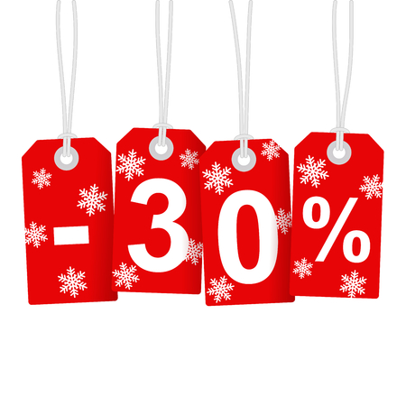 Illustration of Discount 30 Percent