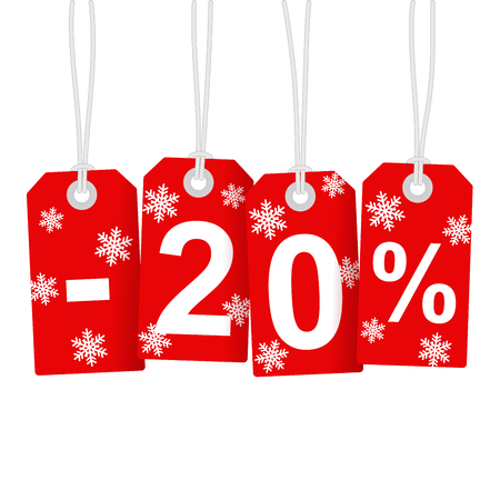 Illustration of Discount 20 Percent
