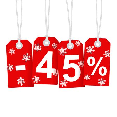 45: Illustration of Discount 45 Percent