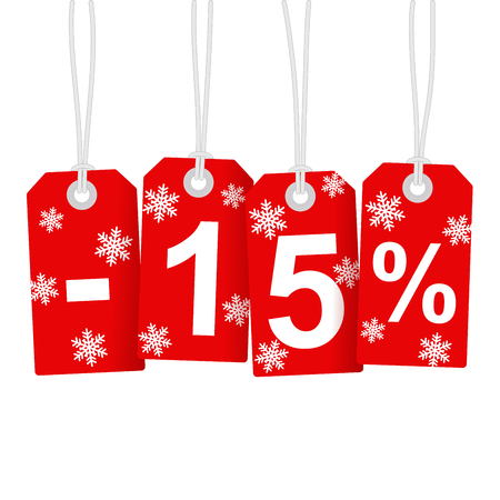 Illustration of Discount 15 Percent Illustration