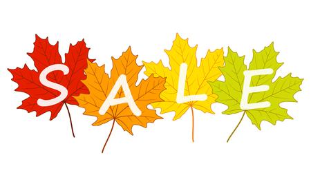 autumn sale Stock Vector - 40929989