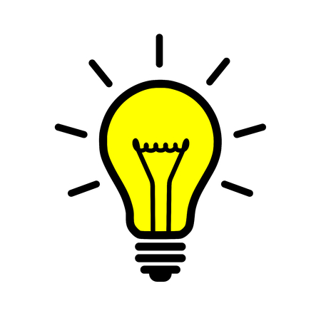 light bulb 일러스트