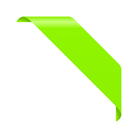 Corner ribbon Vectores