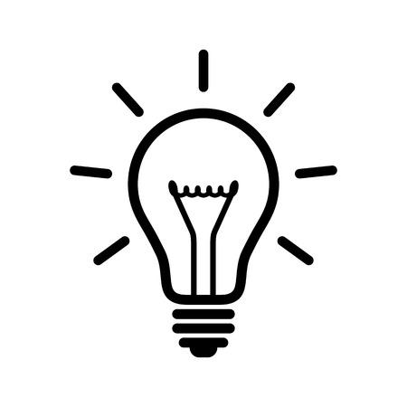 Light bulb Vektoros illusztráció
