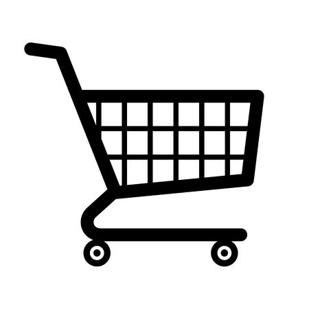 Einkaufswagen-Symbol Standard-Bild - 54302308