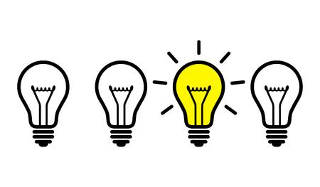 Light bulbs, idea