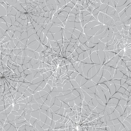 spider' s web: Spider web seamless Halloween background texture cobweb gossamer  Spider s web illustration  Illustration