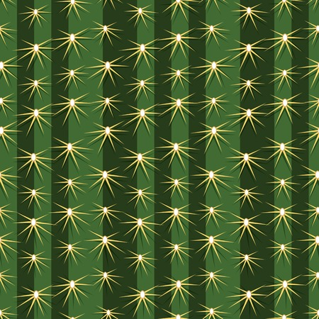 Cactus cacti plant texture seamless pattern vector background prickly pear close up