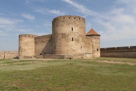 embrasure: Ancient Akkerman fortress at Belgorod-Dnestrovsky, near Odessa, Ukraine. Citadel old fortress. The South of Ukraine photo