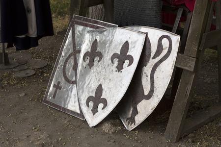 templar: Old templar shield knight equipment photo