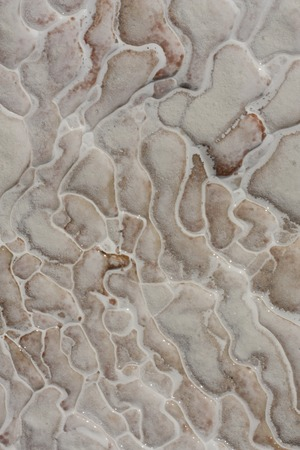 travertine: Natural travertine pools and terraces marble texture,