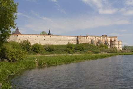 mediaval: Mediaval fortress in Medzhibozh ukrainian place of glory photo Stock Photo
