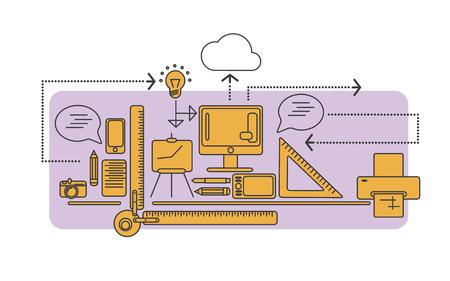 plate camera: design, infographics