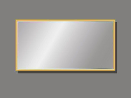 Editable company plate in frame