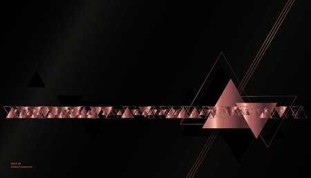 Geometric, abstract, vector background with triangles. Stock fotó - 78175770