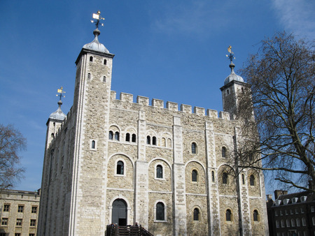 subsequently: The White Tower is a central tower, the old keep, at the Tower of London. It was built by William the Conqueror during the late 11th century, and subsequently extended.