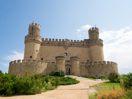 prominence: Manzanares el Real Castle Editorial