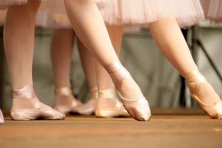 ballerina girl: Ballerinas Stock Photo