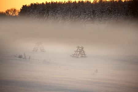 Evening mist