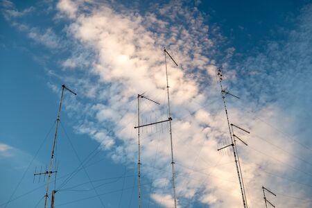 Outdoor television antennas