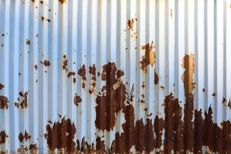 Closeup rusty wall