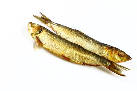 Smoked herring fish