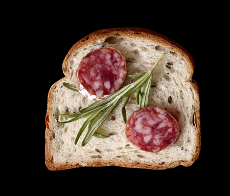 Top view of sandwich Zdjęcie Seryjne