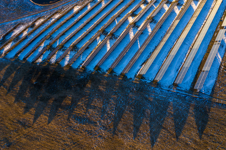 Solar power generation plant 写真素材