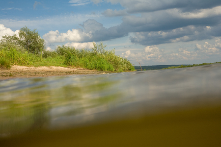 River water landscape